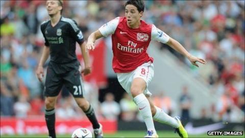 Arsenal's Samir Nasri