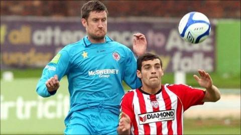 Derry City action