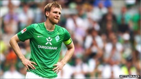Werder Bremen's Per Mertesacker