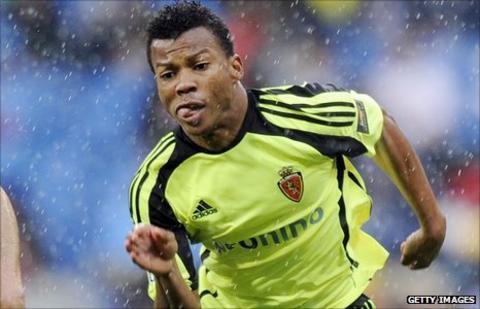 Nigeria striker Ikechukwu Uche