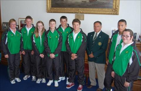 Guernsey's Commonwealth Youth Games team
