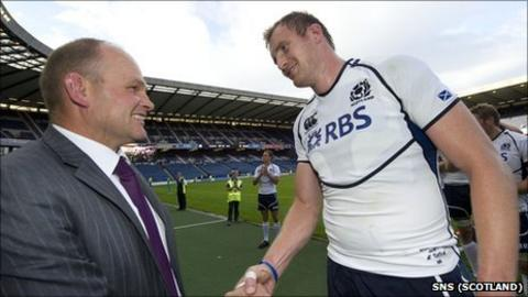 Andy Robinson and Alastair Kellock