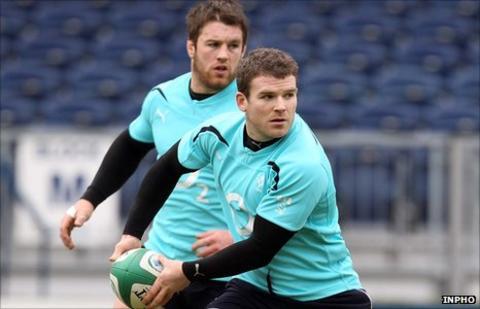 Sean O'Brien and Gordon D'Arcy