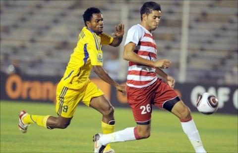 Kaduna's lead striker Jude Aneke