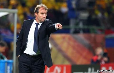Morocco under-23 coach Pim Verbeek