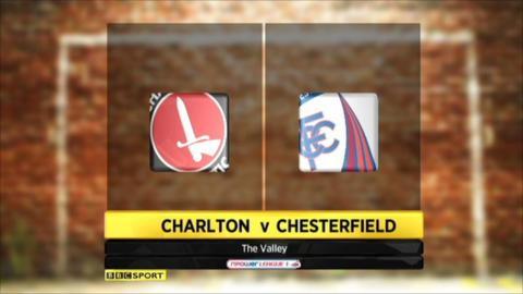 Charlton 3-1 Chesterfield