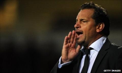 Aldershot manager Dean Holdsworth