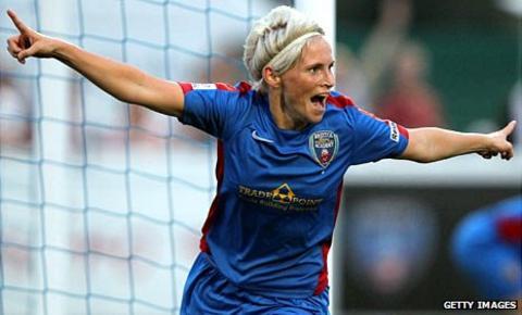 Jess Fishlock, top scorer for Bristol Academy