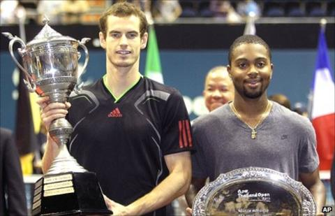 Andy Murray and Donald Young