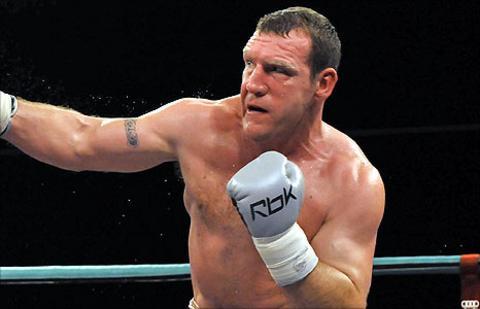 Belfast heavyweight Martin Rogan
