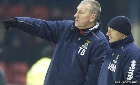 Terry Butcher and Maurice Malpas