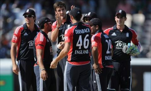 England will play five one-day internationals in India