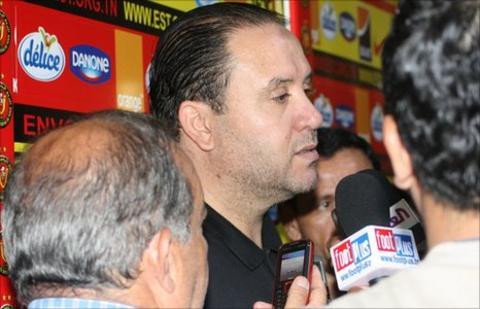Esperance coach Nabil Maaloul