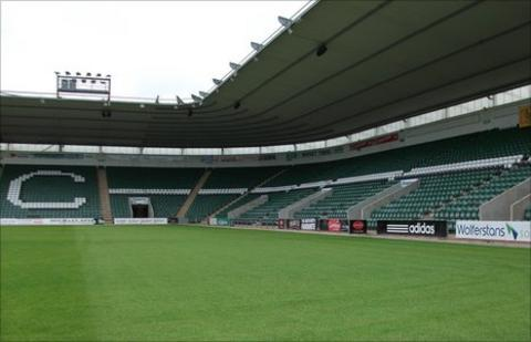 Home Park Is The Closest Ground That Meets Premiership Standards Plymouth Argyle