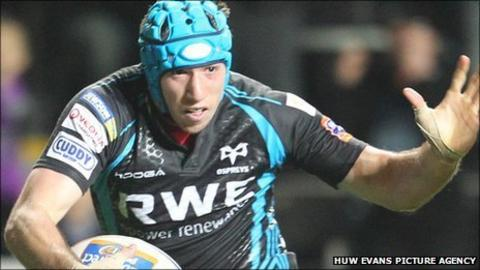Ospreys captain Justin Tipuric
