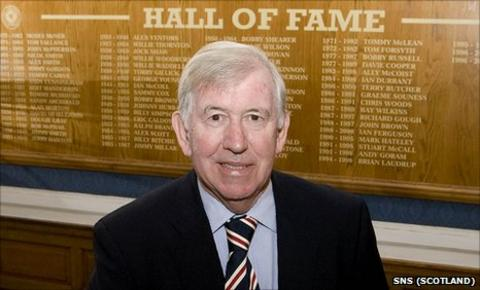 """John Greig was voted """"The Greatest Ever Ranger"""" in a fans' poll in 1999"""