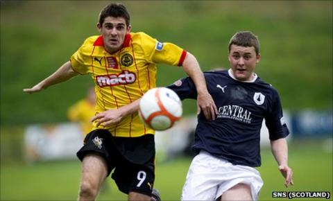 Kris Doolan and Tom Scobbie