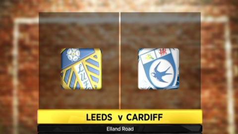 Leeds 1-1 Cardiff