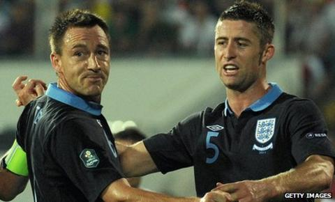 John Terry and Gary Cahill have been Fabio Capello's preferred combination in the last three England matches