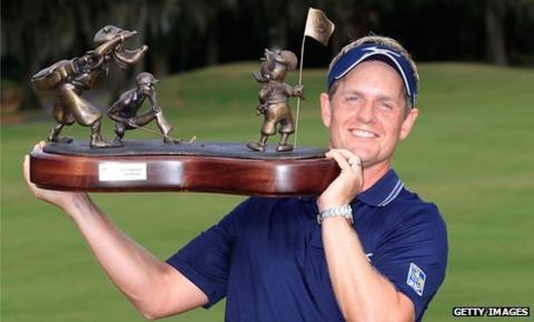 Luke Donald won the Disney Classic in Florida in October
