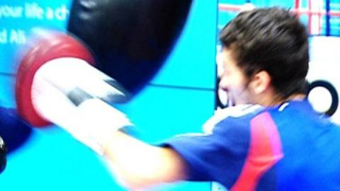 British boxer Andrew Selby