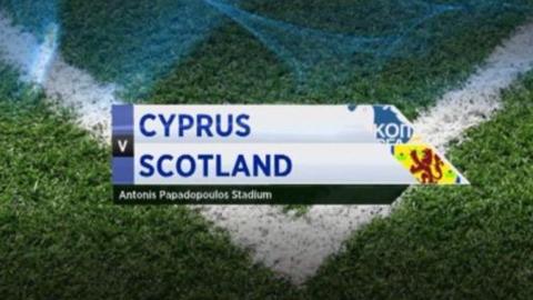 Cyprus v Scotland