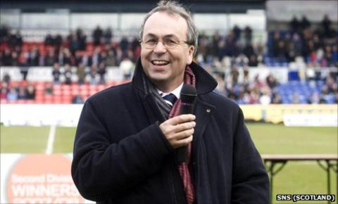 Ross County chairman Roy MacGregor
