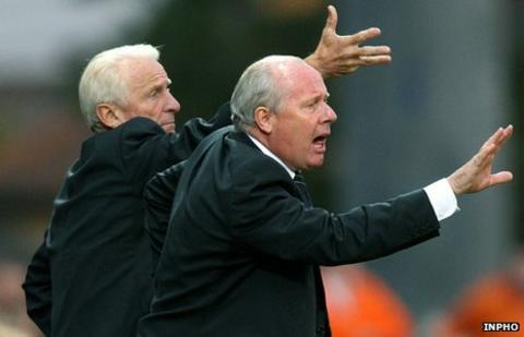 Giovanni Trapattoni and Liam Brady