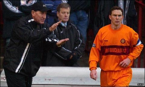 Terry Butcher and Derek Adams
