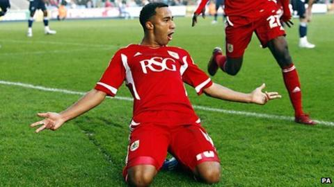 Bristol City's Nicky Maynard