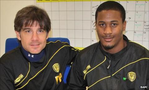 Paul Peschisolido (left) and Kristian Ramsey-Dickson