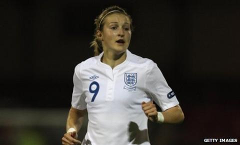 Arsenal striker Ellen White