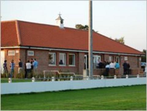 Malton and Norton RU clubhouse