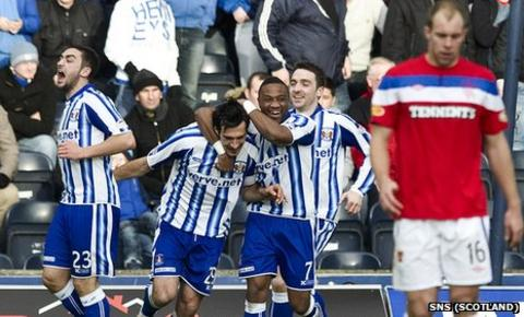 Kilmarnock beat Rangers 1-0 at Rugby Park