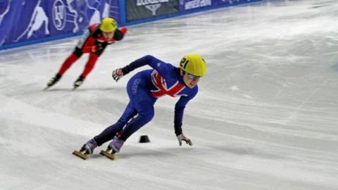 GB short-track speed skater