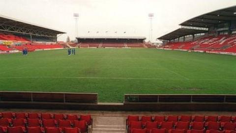 The future of football at the Racecourse Ground now looks secure