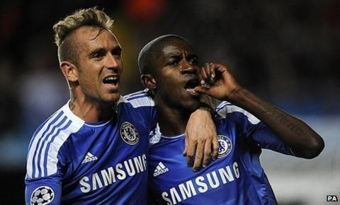 Raul Meireles and Ramires