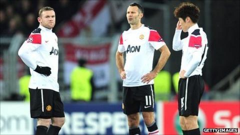 Wayne Rooney, Ryan Giggs and Park Ji-Sung