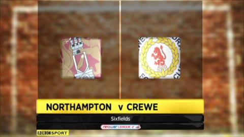 Northampton 1-1 Crewe