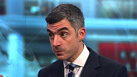 BBC sports news correspondent Joe Wilson