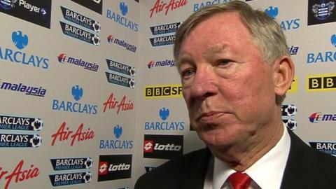 Sir Alex Ferguson - Manchester United manager