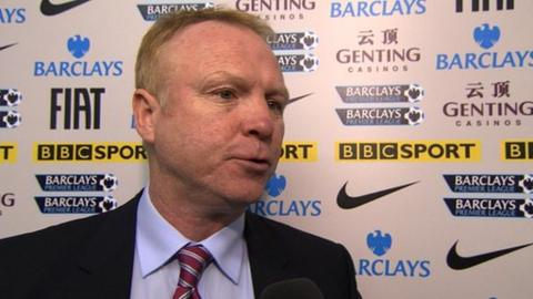 Alex McLeish - Aston Villa manager