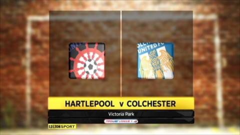Hartlepool 0-1 Colchester