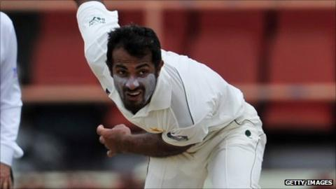 Pakistan pace bowler Wahab Riaz