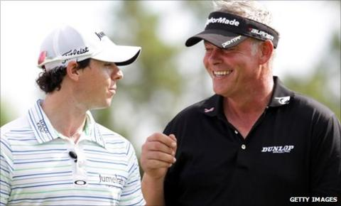 US Open winner Rory McIlroy and Open winner Darren Clarke both hail from Northern Ireland