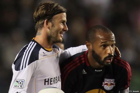 David Beckham, Thierry Henry