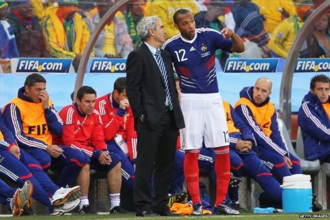 Raymond Domenech, Thierry Henry
