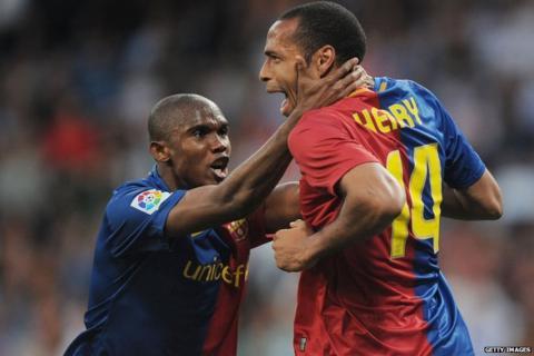Samuel Eto'o, Thierry Henry
