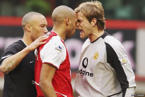 Thierry Henry, Roy Carroll