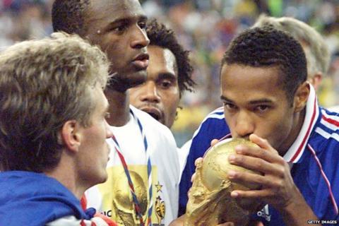Thierry Henry, Didier Deschamps, Patrick Vieira